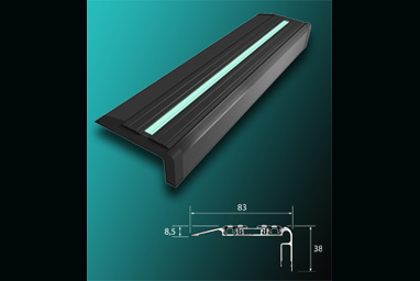 Illuminated Stair Nosing Safety Stair Lights
