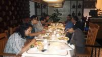 Panitia Hari Puisi Indonesia mengadakan rapat di Hotel Century, Jakarta, September 2016