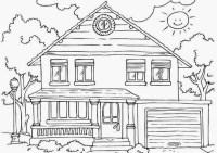 Sketsa-Rumah-Dan-Pemandangan