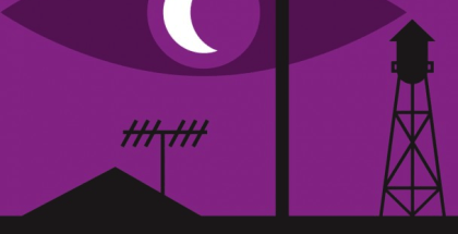 Welcome to Night Vale logo created by Rob Wilson.
