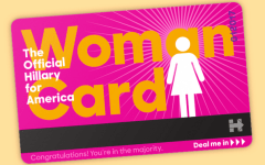 "The Hillary Clinton campaign offers supporters a ""Woman Card"" for a monetary donations.  https://www.hillaryclinton.com/contribute/donate/official-woman-card/"