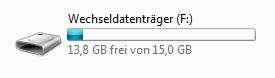USB-Stick finden