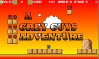 Jump ''n Run a grey guys adventure