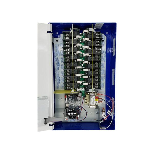 GR 1416LT \u2013 LCD 16 RELAY BLUE BOX LIGHTING CONTROL PANEL - LiteRite
