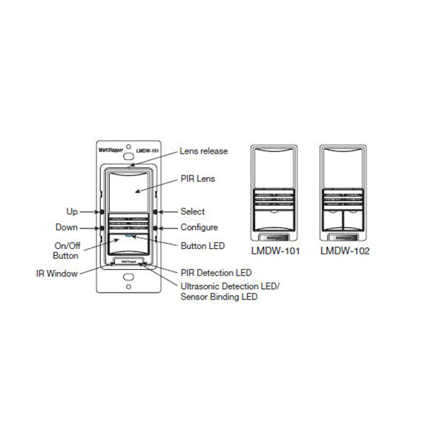 occupancy and vacancy sensor wall switches