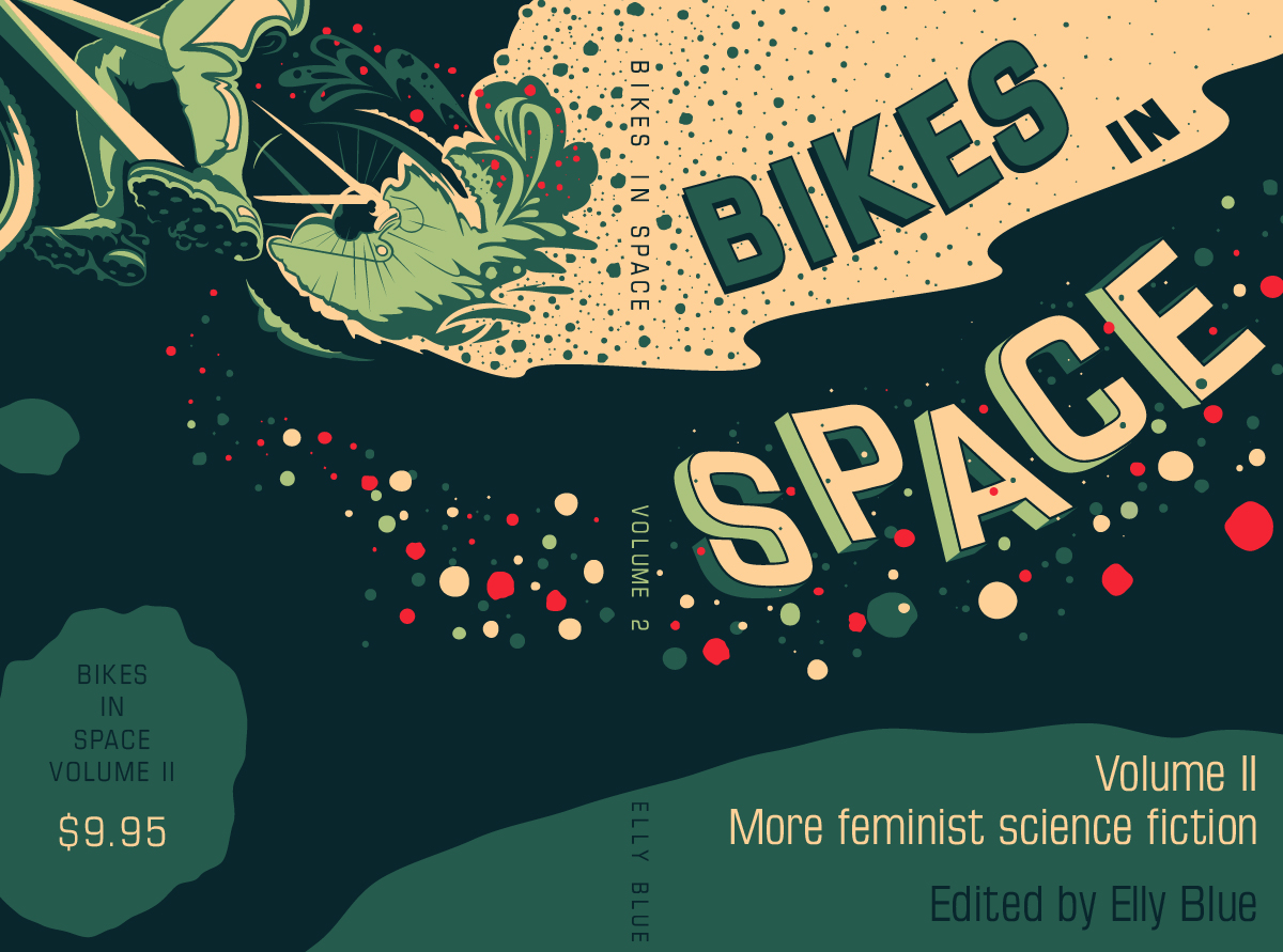 Deep House Girl Wallpaper Bikes In Space Illustration Little Package