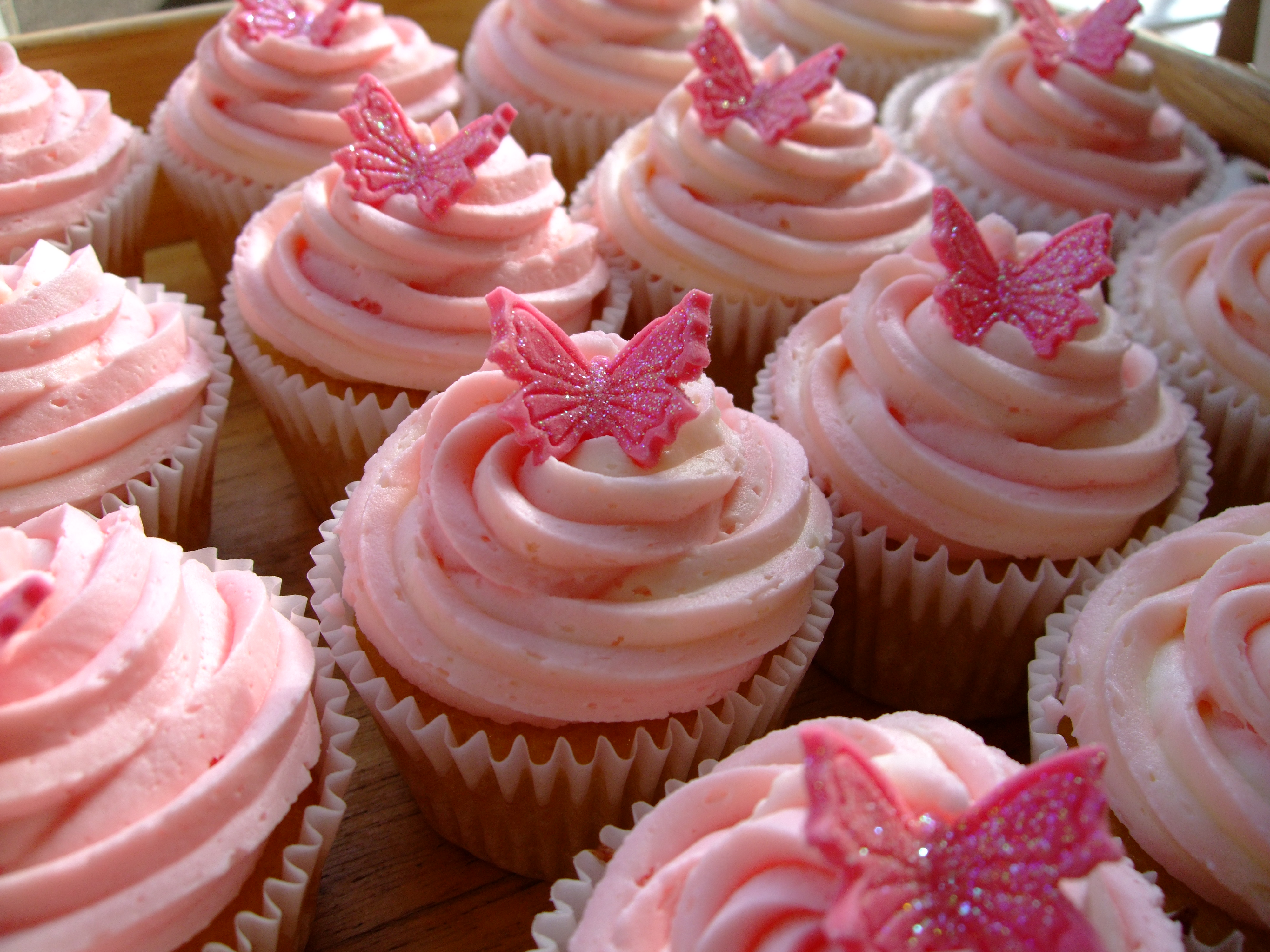 Sweet Beautiful Girl Wallpaper Butterfly Cakes Decoration Ideas Little Birthday Cakes