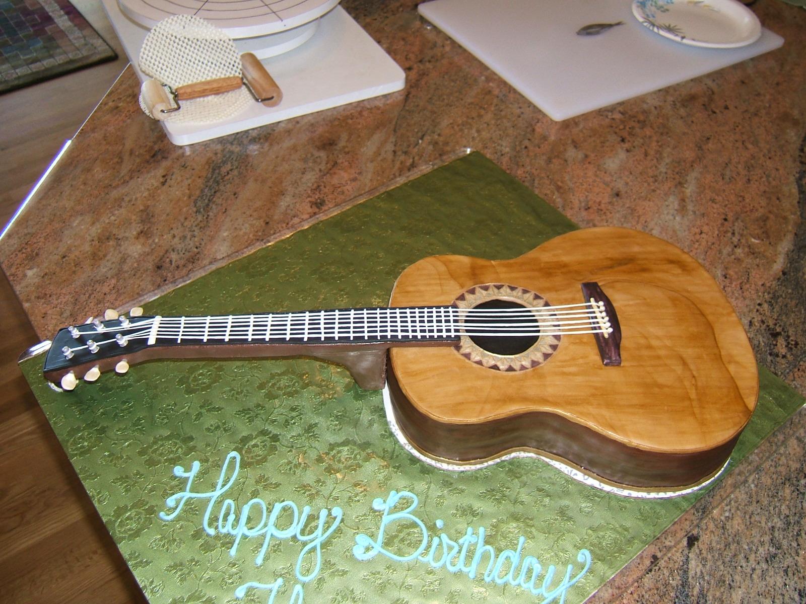 Guitar Cake Decorating Ideas Elitflat