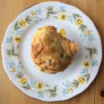 Courgette, Red Onion and Mozzarella Muffins