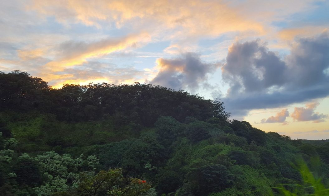 SUNSET ON ROAD TO HANA