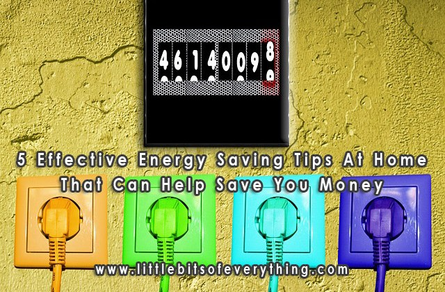5 Effective Energy Saving Tips At Home That Can Help Save You Money