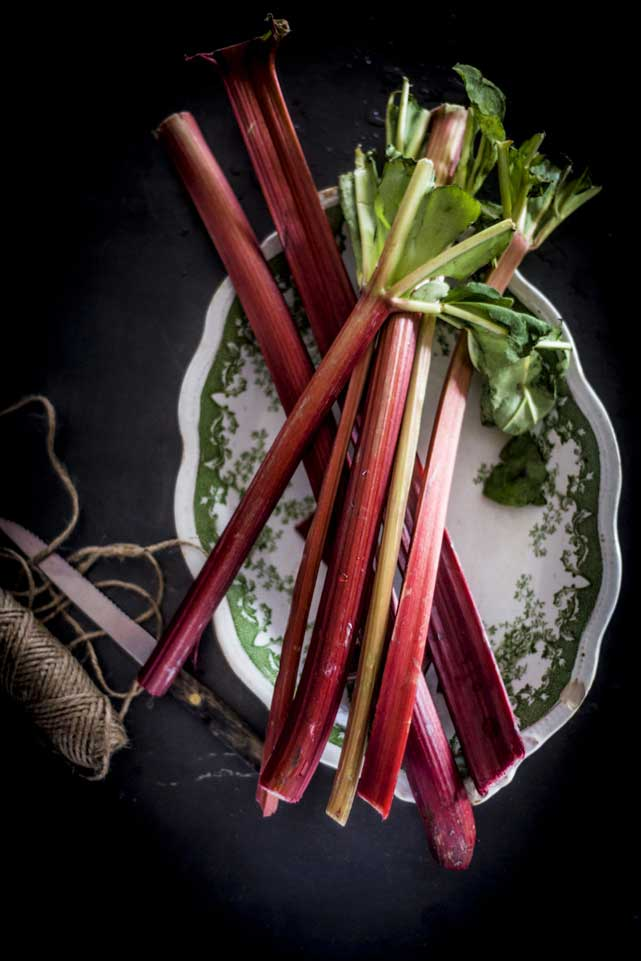 What to do with Rhubarb