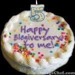 Year Five: Happy Blogiversary to Me!