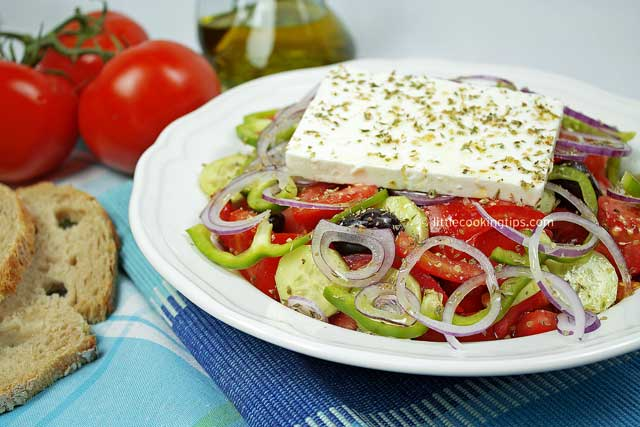 The Authentic Greek Salad Horiatiki As Greek As It Gets