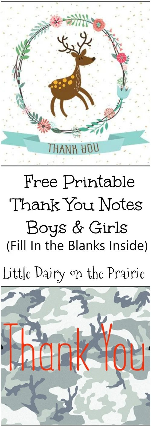 Teach Kids How to Write a Thank You Note (Plus Free Printable Thank