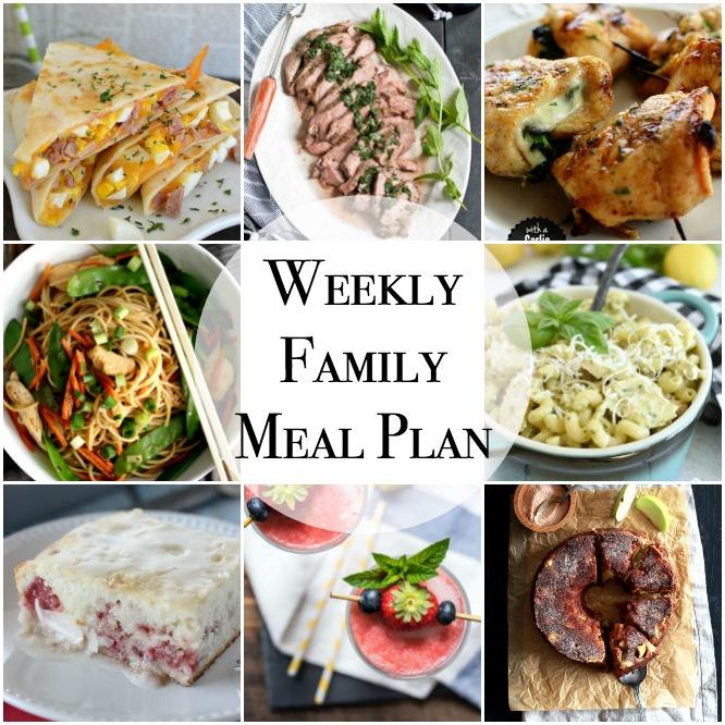 Weekly Family Meal Plan - Week 139 - Little Dairy On the Prairie
