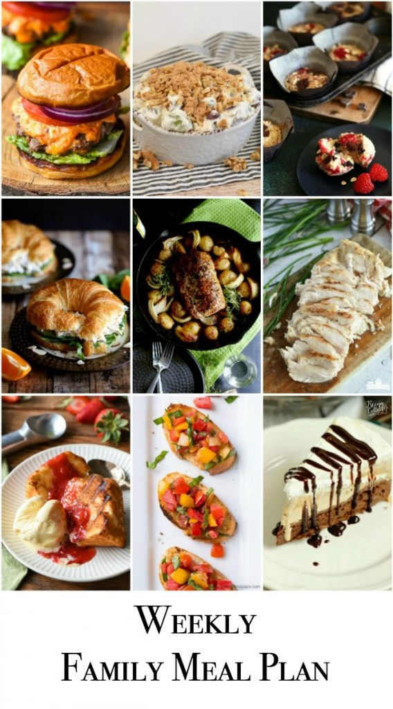 Weekly Family Meal Plan - Week 140 - Little Dairy On the Prairie