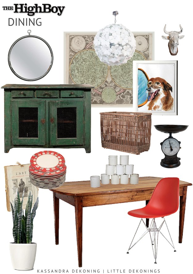 """Dine with """"The Highboy"""" - Antique and Vintage Furniture"""
