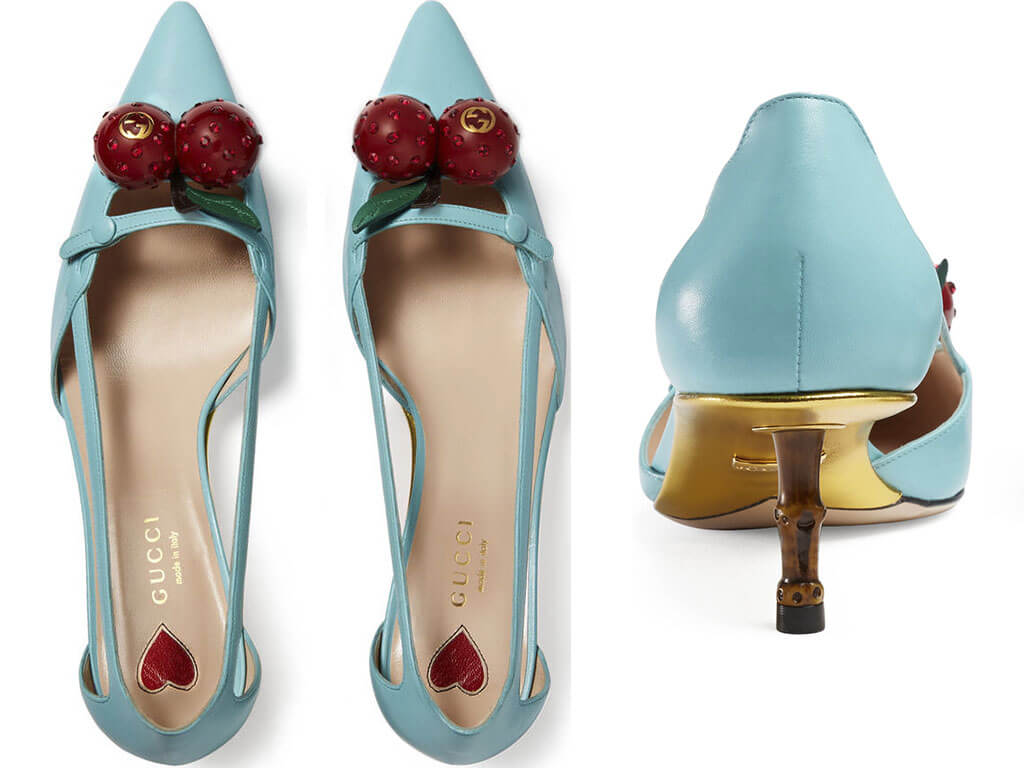 Who Wants Cherry Shoes Little Fashion Paradise