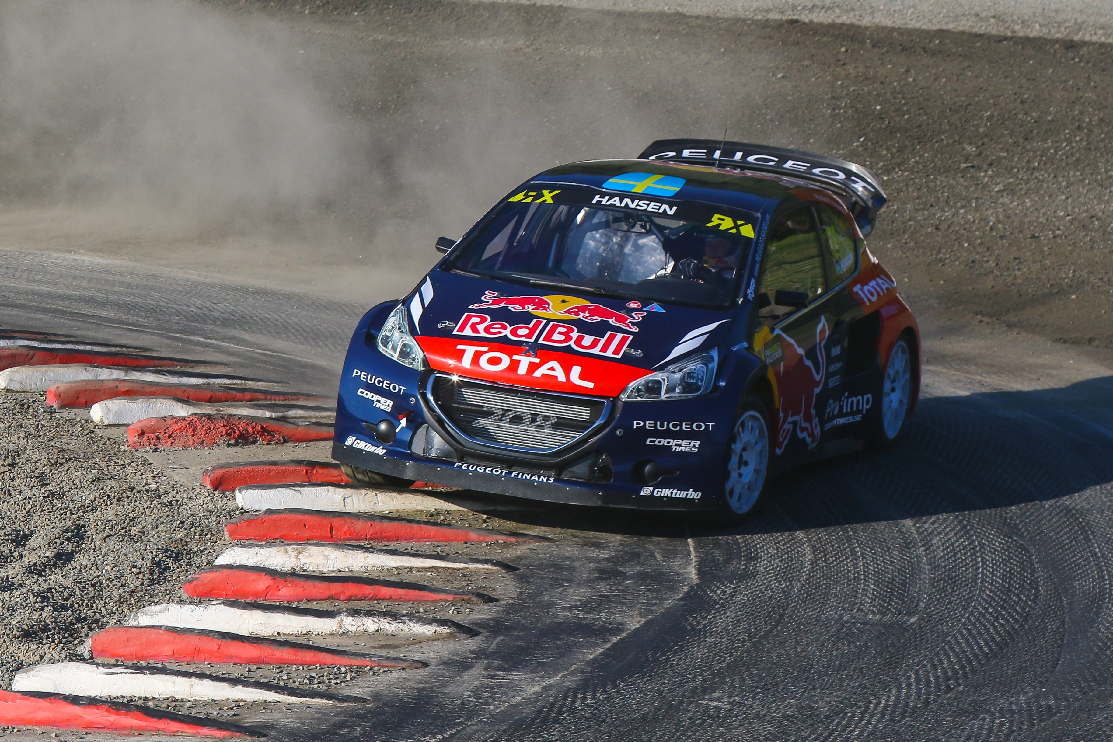 Monster Rally Car Wallpaper Double Victory For Team Peugeot Hansen As Timmy Triumphs