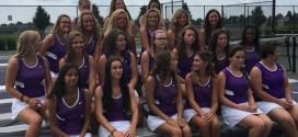 Girls Tennis Team Picture Day