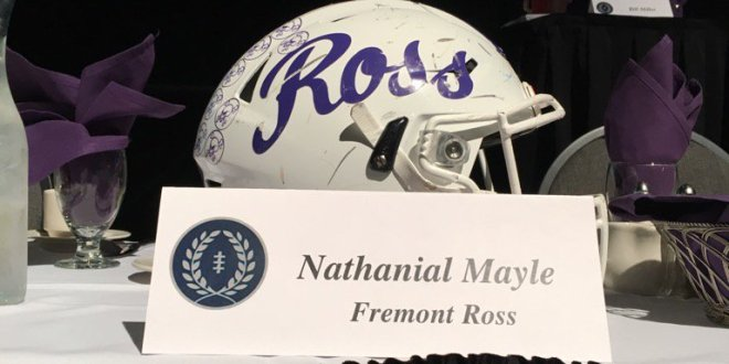 Nate Mayle – National Football Foundation Award Winner
