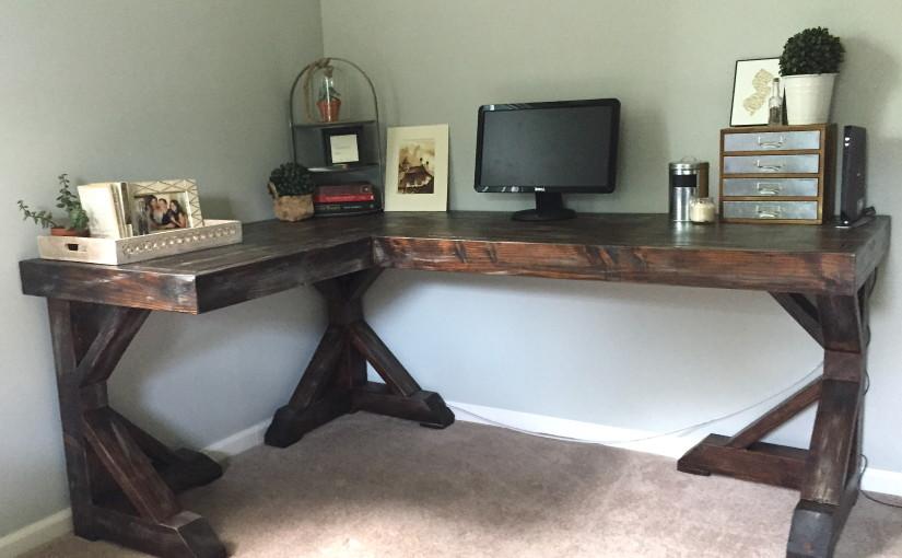Diy Corner Desk Little Home Happiness