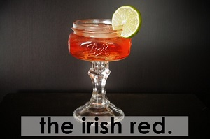'kiss me I'm Irish' week: the irish red.