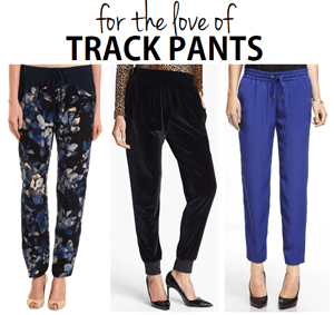 for the love of track pants.