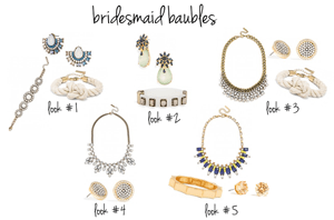 wedding // bridesmaid baubles.