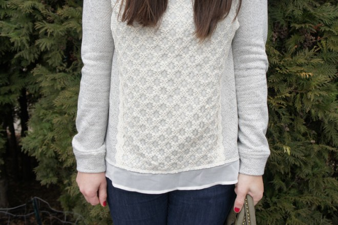 sheer panelled sweaters to add a bit more fun to your winter wardrobe c/o LLinaBC.com