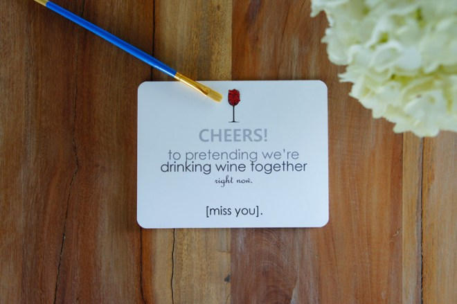 BFF greeting cards.