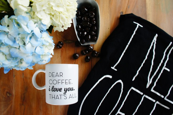 coffee love; favorite coffee-inspired products.