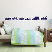 Vehicle Wall Stickers Set