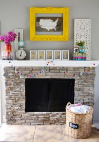 Typography Mantel Art (using lemons) - craft - Little Miss ...