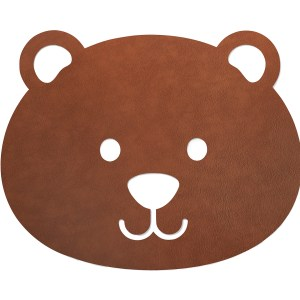 LIND DNA | KIDS BEAR FLOOR MAT SMALL, NATURE