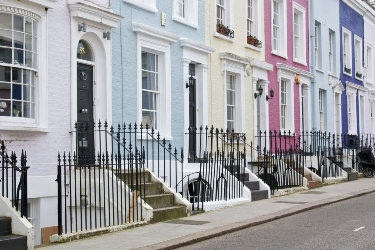 Cute Line Wallpaper The Colourful Houses Of Notting Hill Little Observationist