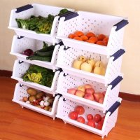Fruit and vegetable storage ideas - LittlePieceOfMe