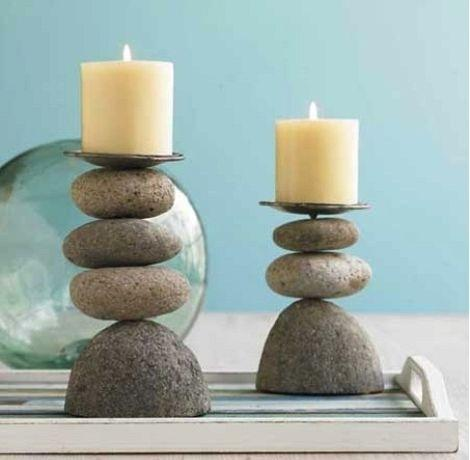 Stones For Decoration 16 Home Stones Decoration Ideas