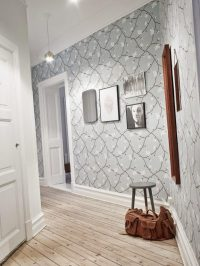 26 Hallway wallpaper decorating ideas - Little Piece Of Me