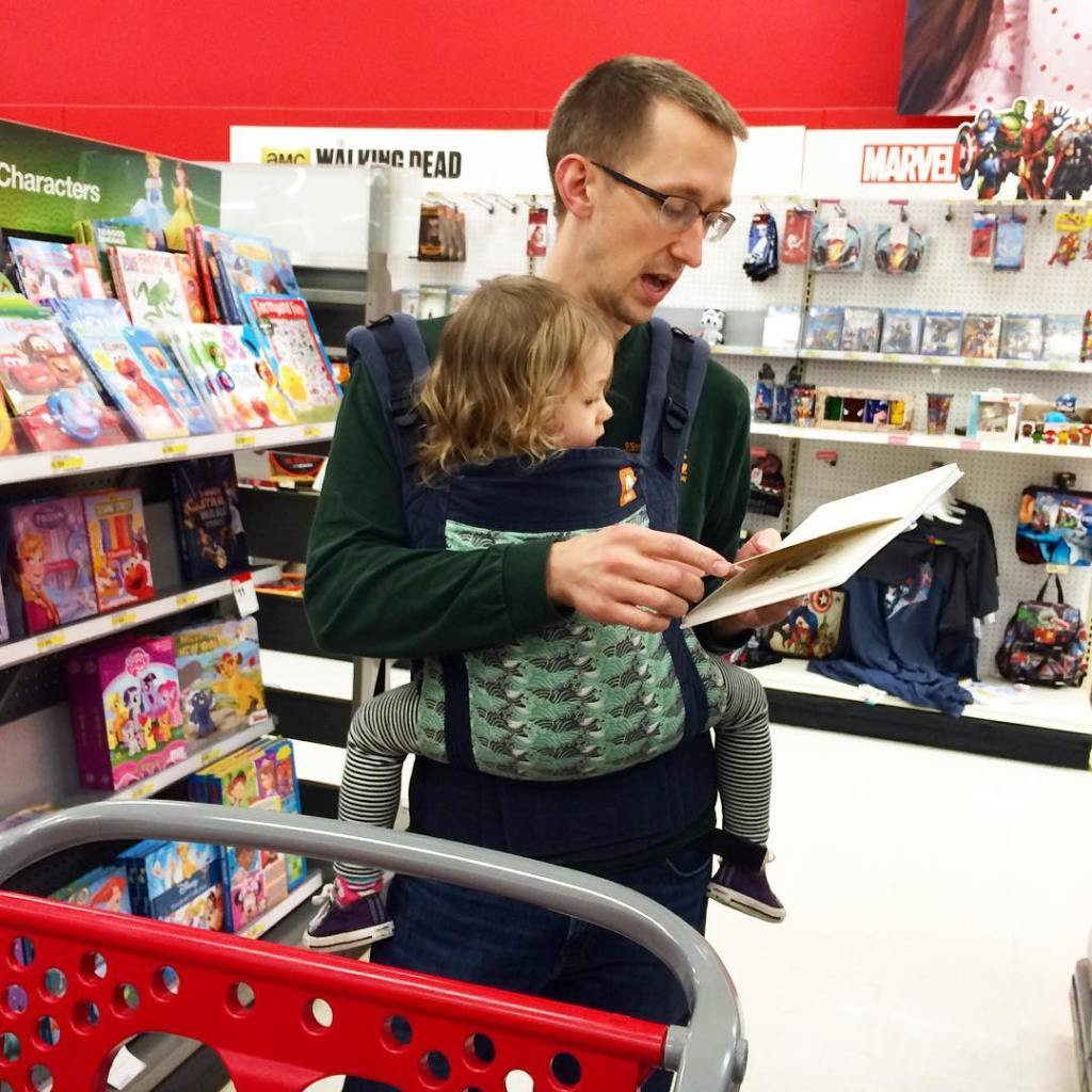 Some quality daddy time reading target tulaattarget