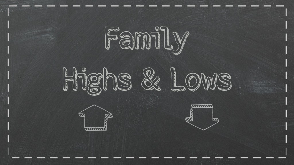 Family Highs & Lows | 12.14.14