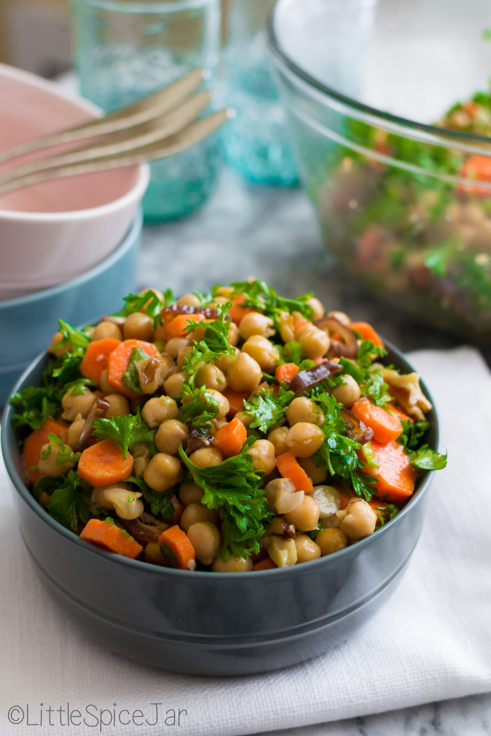 Moroccan Carrot-Chickpea Salad 8