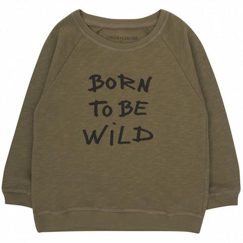 Louis Louise Born To Be Wild sweatshirt - Little Spree