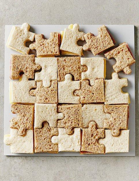 M&S childrens jigsaw sandwich platter - Little Spree