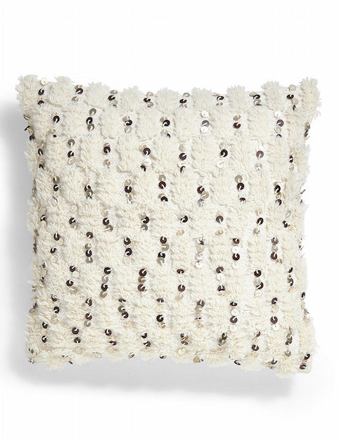 Little Spree: Moroccan style sequinned cushion