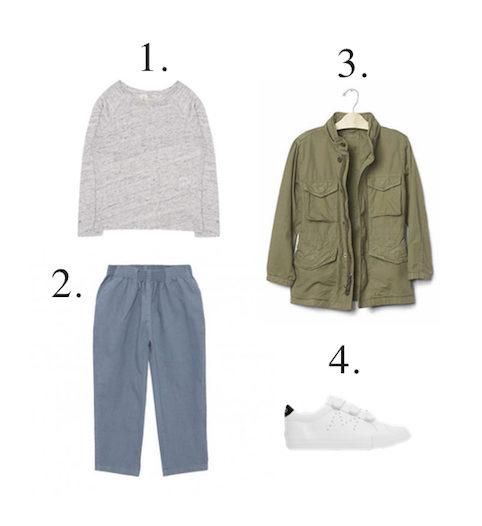 Little Spree: boys army style jacket