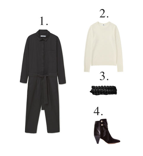 Mama Spree: how to wear your jumpsuit like Emmanuelle Alt