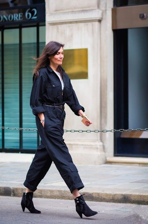 Mama Spree: how to wear your jumpsuit like Emmanuelle from French Vogue