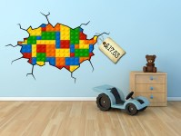 Spotted! LEGO wall sticker decal - LOVE it! - LittleStuff